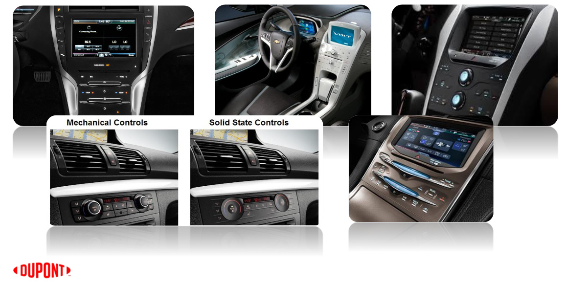 Automotive UI today by DuPont