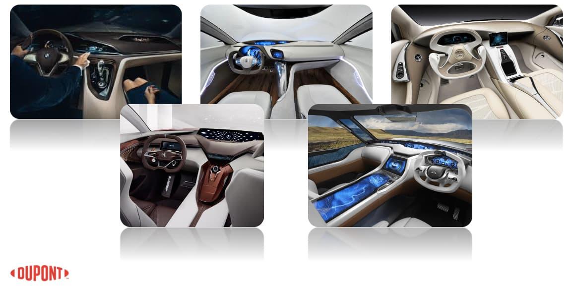 Automotive UI future by DuPont