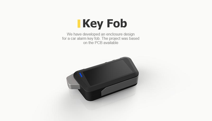 ar alarm key fob on the available PCB