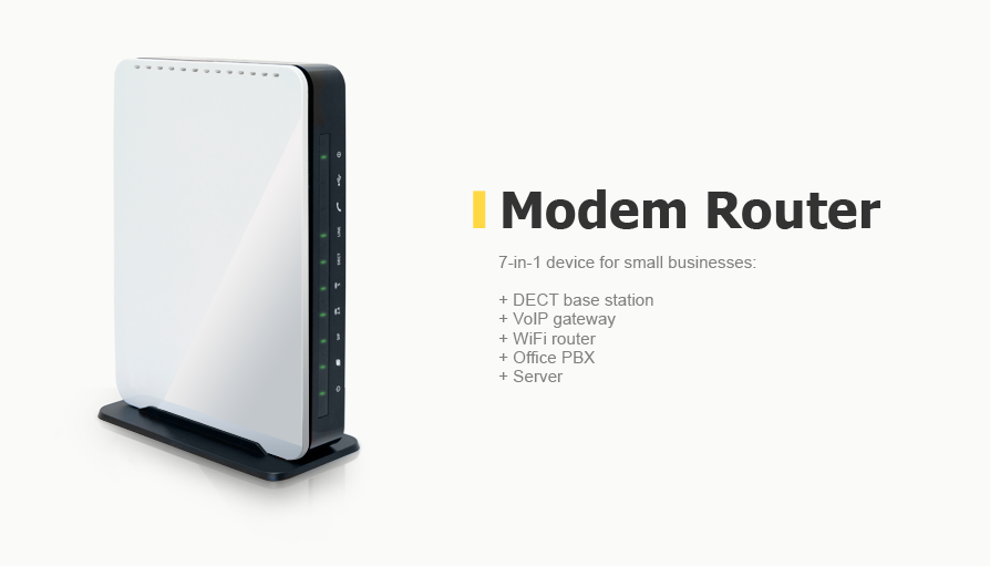Modem router design