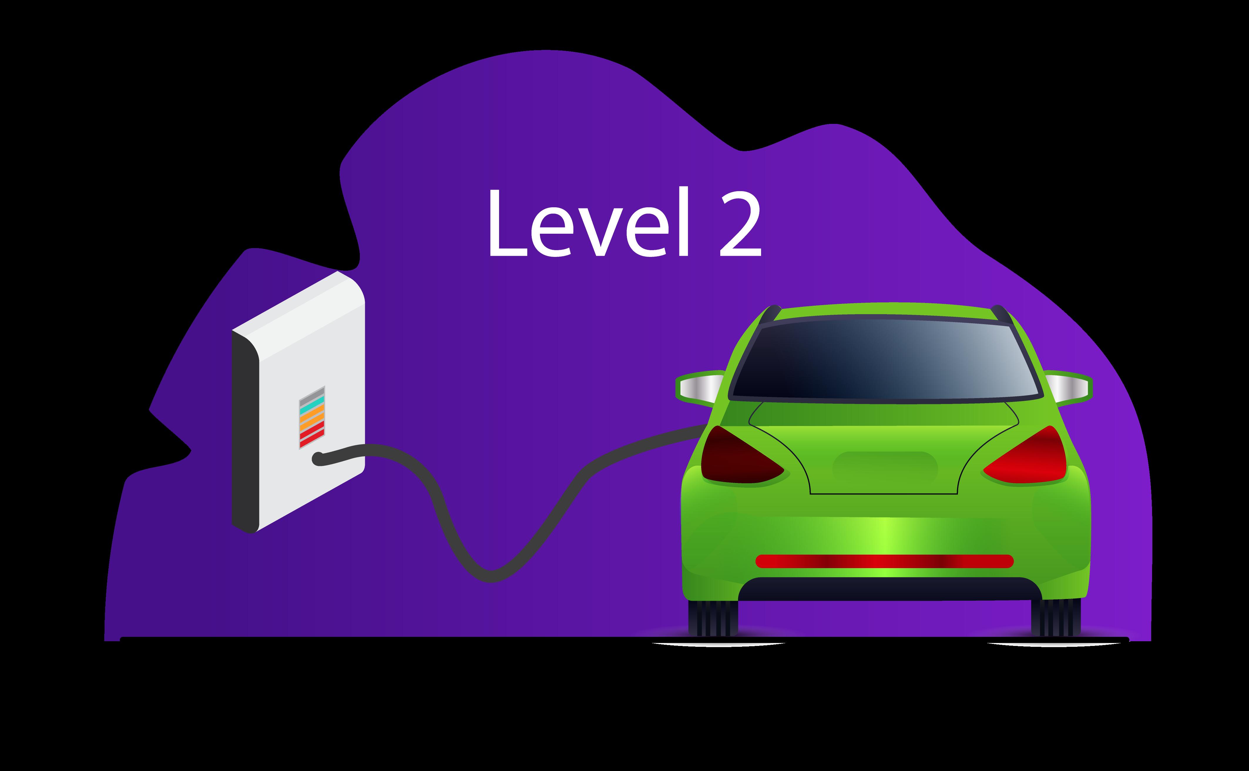 Level 2 charging EV