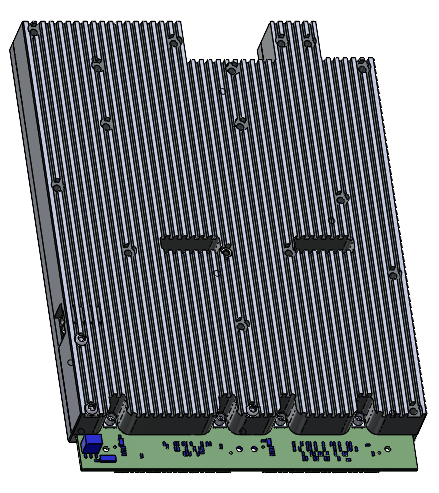 Protective shield for heat dissipation and interference