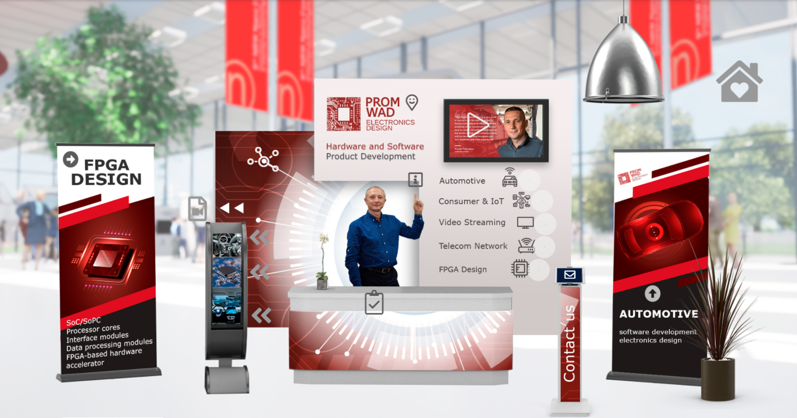 Promwad Virtual Booth NRW Nano