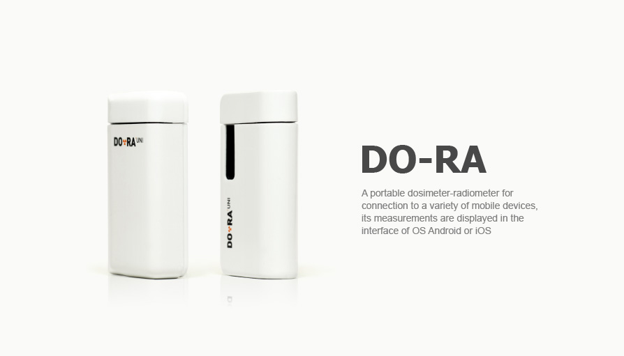 Design and development of portable dosimeter-radiometer DO-RA
