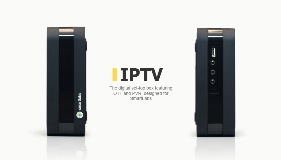 Digital IPTV set-top box featuring OTT and PVR