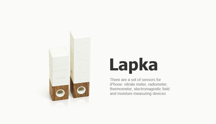 Design and development of Lapka sensors for iPhone