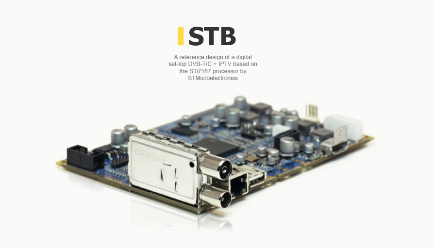Set-top box DVB-T/C + IPTV design