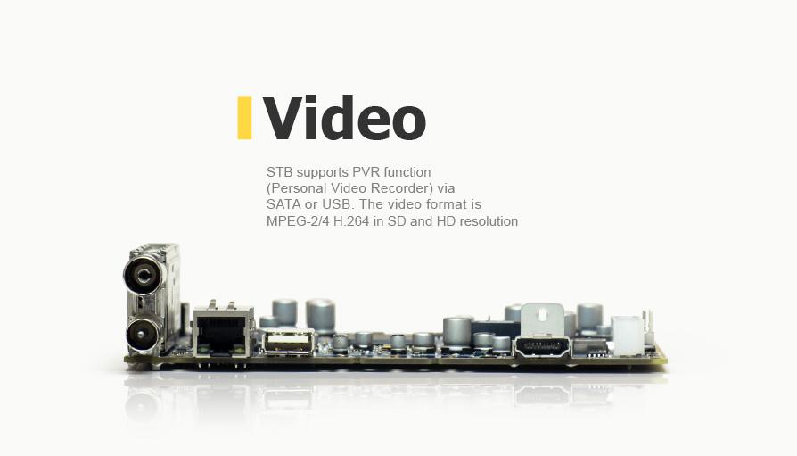 A reference design of a set-top box DVB-T/C + IPTV