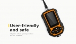 Fish finder adapted to harsh operating conditions and IP67 compliance
