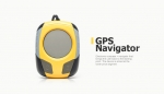 The development of personal compact GPS navigator with an electronic compass
