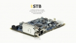 design of a digital set-top DVB-T/C + IPTV based on the STi7 167 processor by STMicroelectronics