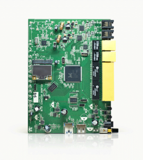 we developed a specialized Embedded Linux distribution for routers and other network devices