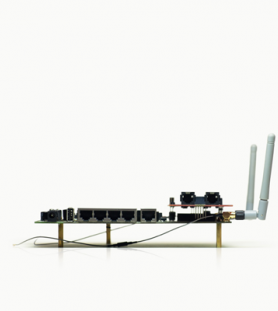 VoIP broadband router design